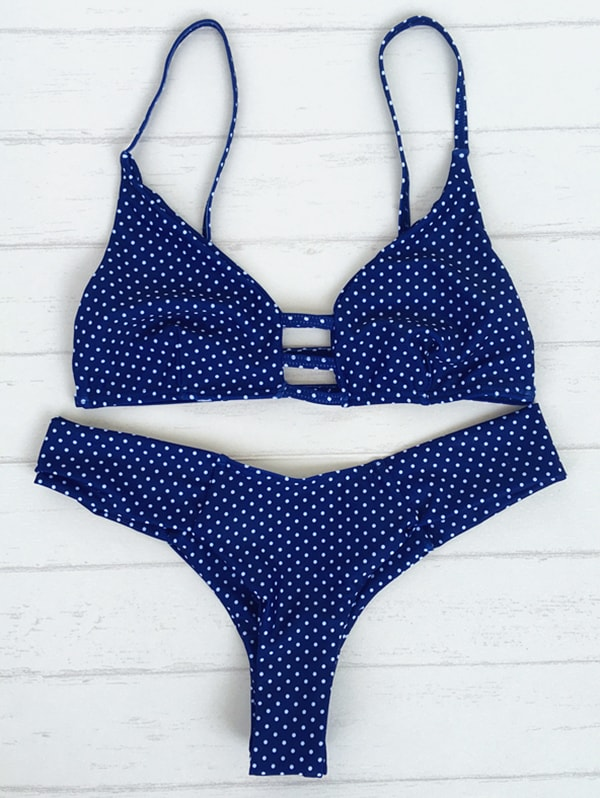 polka dots swimsuit-min