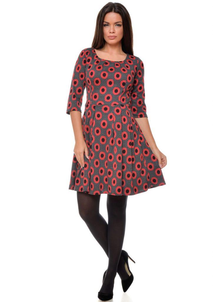 rochie-casual-cu-buline-mari-rosu-cu-negru-r085i967-fata-992x1404-min