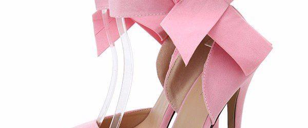Pantofi roz