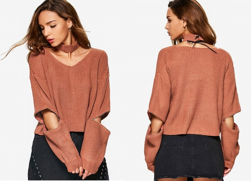 Brown Sweater-min