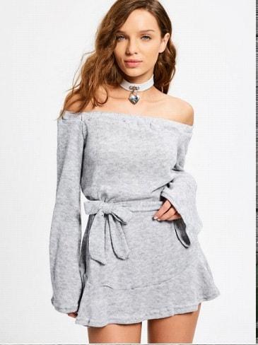 Rochie tricotata-min