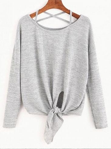 pulover gri-min