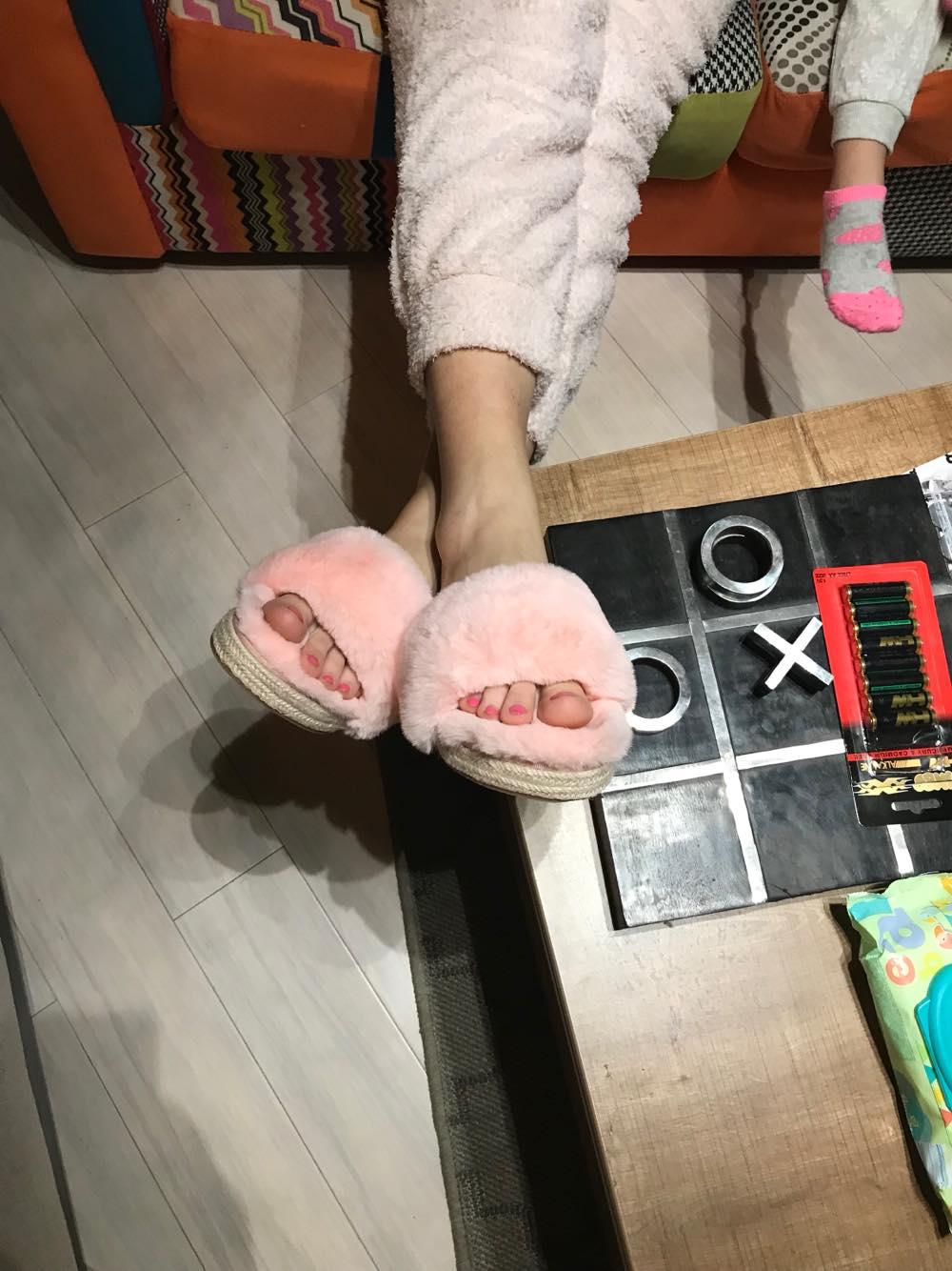 Papuci pufosi-min
