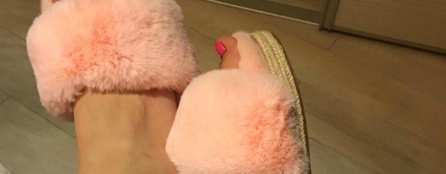 Papuci zaful roz-min